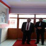Milli Eğitim Müdürü Hüseyin AKBÜLBÜL, ŞASM Cumhuriyet İlkokulunu Ziyaret Etti