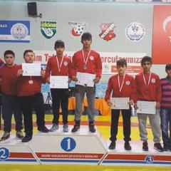Grekoromen Güreşçileri Türkiye Şampiyonasında