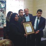 Şehit Hüsnü ÖZEL'in Şehadet Belgesi Ailesine Teslim Edildi
