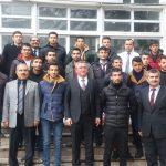 POLİS ÖZEL HAREKAT ADAYLARINDAN İLÇE KAYMAKAMI MUHAMMET ÖNDER'e ZİYARET