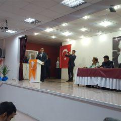 "AK PARTİ, REFERANDUMA ""EVET"" TOPLANTISINI MUCUR'DA YAPTI"