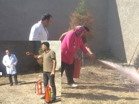 Mucur Ek Hizmet Binası Ve Toplum Ruh Sağlığı Merkezinde Yangın Tatbikatı Gerçekleşti
