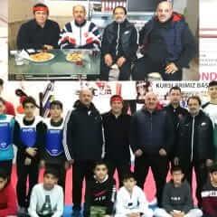 Avustralya'dan Kırşehir Tekvandoculara Ziyaret