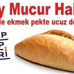 Mucur Halkı; Belediye Ekmeği Çıkmayınca Bu Hesabı Yaptınız Mı?