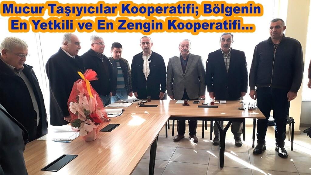 Mucur Taşıyıcılar Kooperatifi; Bölgenin En Yetkili ve En Zengin Kooperatifi...