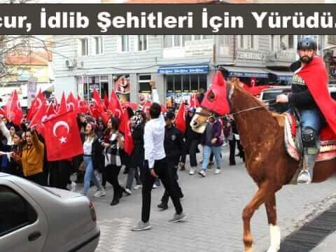 Mucur, İdlib Şehitleri İçin Yürüdü…