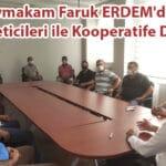 Kaymakam ERDEM'den Süt Üreticileri ile Kooperatife Destek