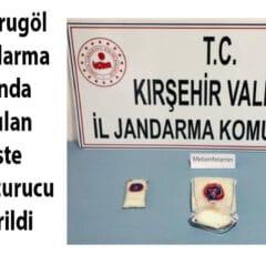 Kurugöl Köyü Mevkiinde 1 Kg Uyuşturucu!..