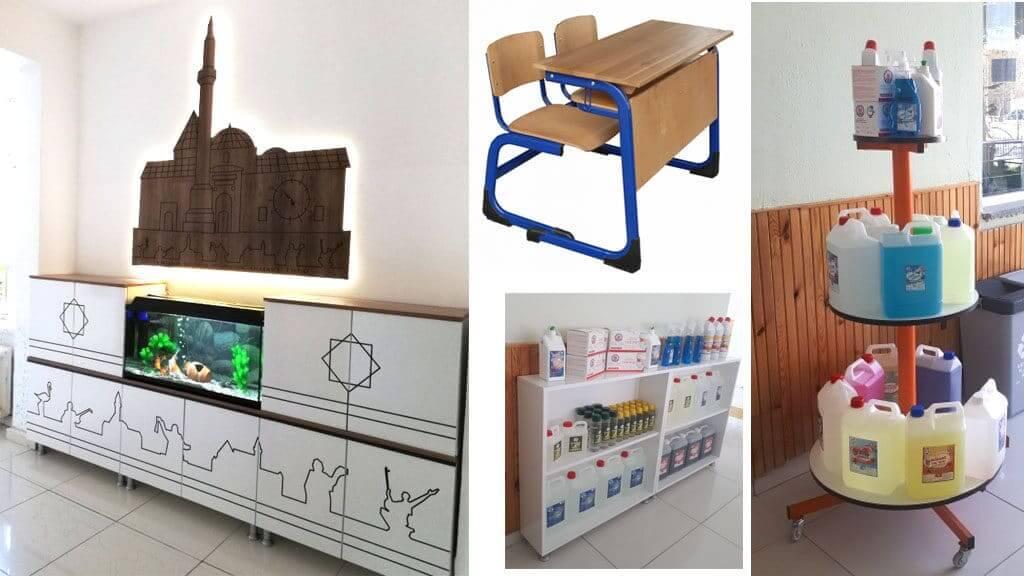 Kırşehir Meslek Lisesi Temizlik Ürünleri Satıyor