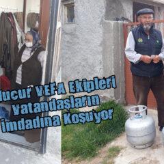 Mucur VEFA Ekipleri Vatandaşların İmdadına Koşuyor