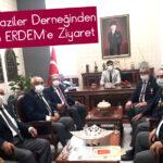 Muharip Gaziler Derneğinden Kaymakam ERDEM'e Ziyaret
